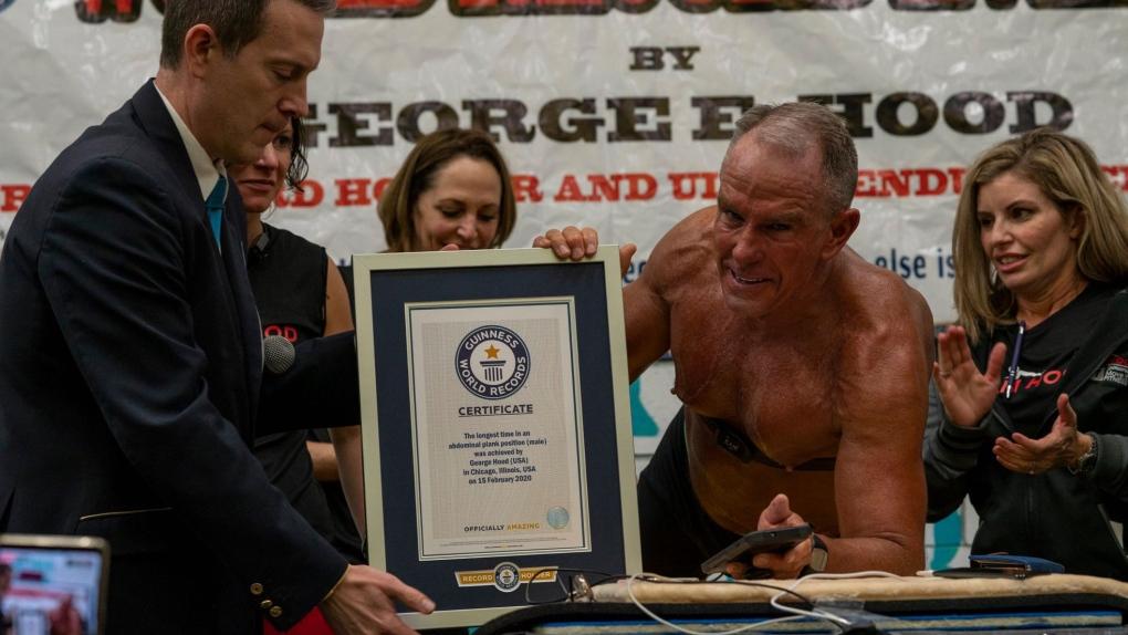 Najdłuższy plank - rekord Guinnessa