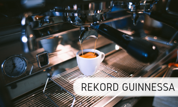Najwięcej filiżanek espresso - Rekord Guinnessa