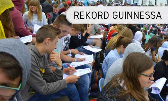 Największa lekcja matematyki - Rekord Guinnessa