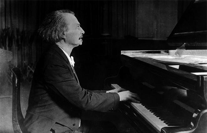 Paderewski - pianista
