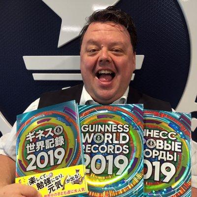 Craig Glenday - Redaktor Księgi Rekordów Guinnessa