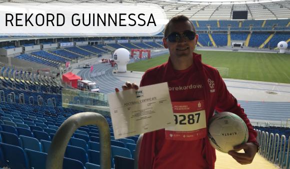 Rekord Guinnessa - Dariusz Kołodziejczyk