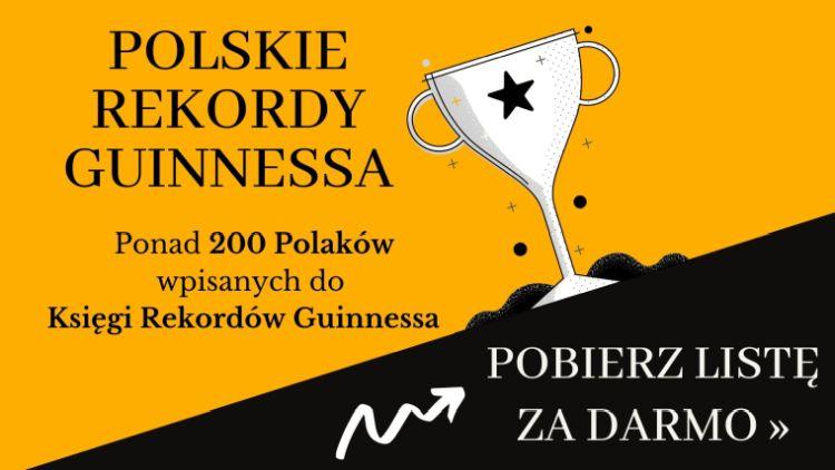 Lista polskich rekordów Guinnessa