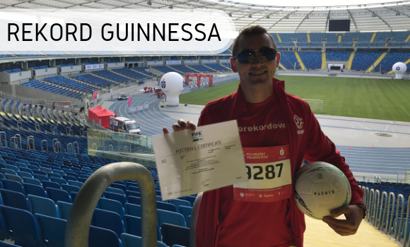 Dariusz Kołodziejczyk - Rekord Guinnessa
