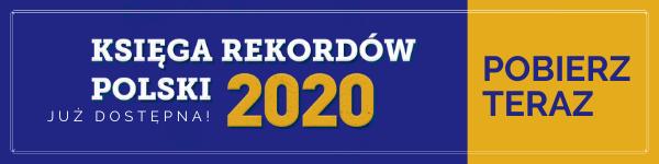 Księga Rekordów Polski 2020 - Przycisk