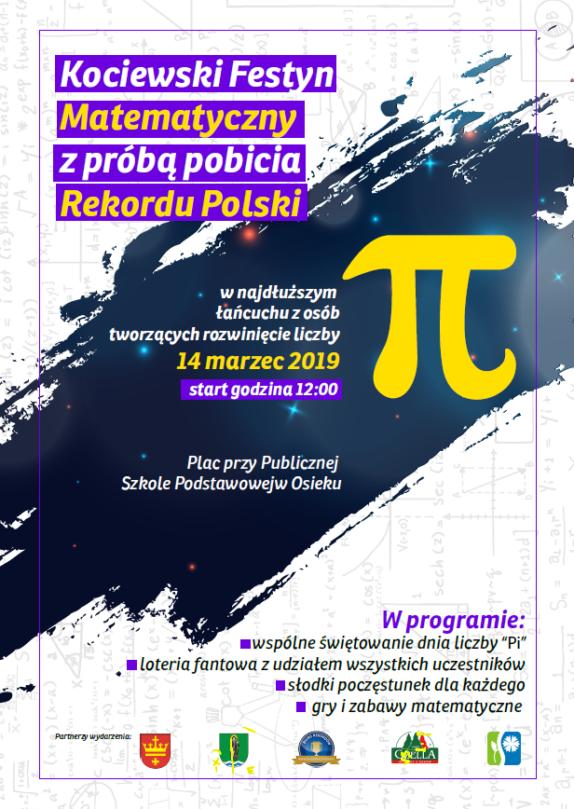 Plakat - Liczba Pi - Osiek