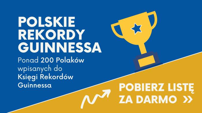 Polskie Rekordy Guinnessa - Baner