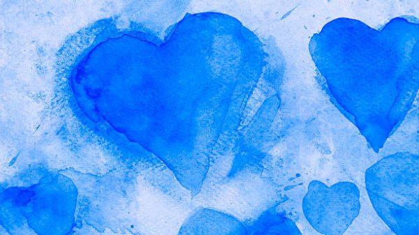 Niebieskie serca