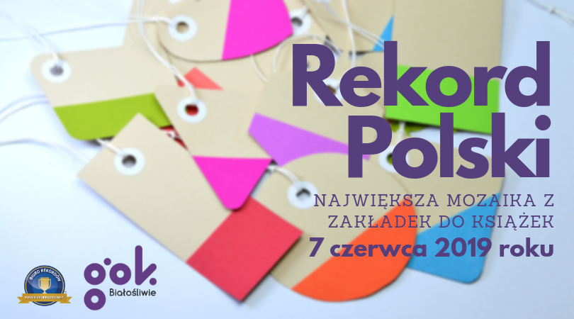 Rekord Polski-mozaika z zakładek