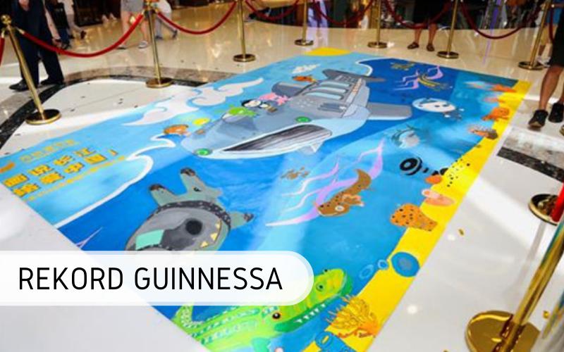 Rekord Guinnessa - Największa kolorowanka