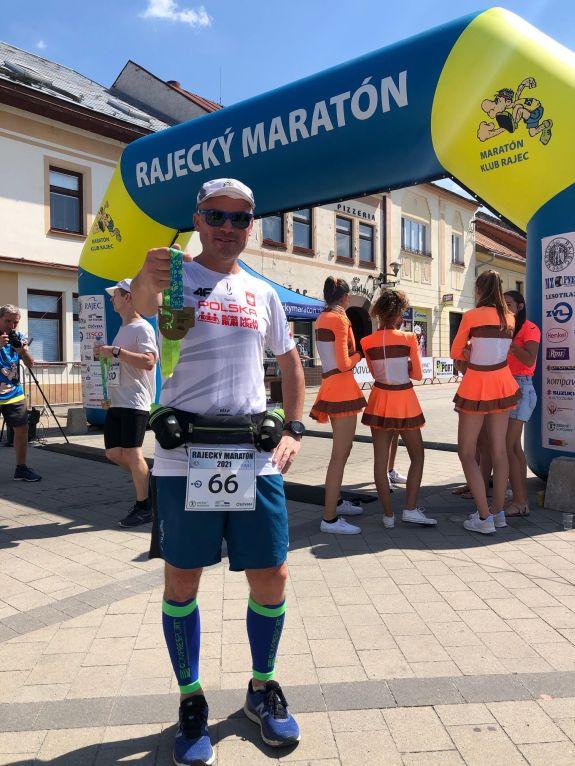 Wojciech Machnik poprzebiegnięciu 100. maratonu