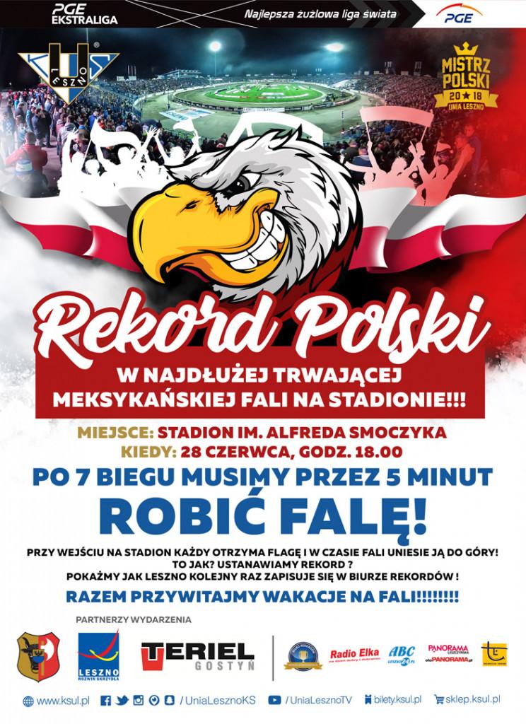 Rekord Polski - fala