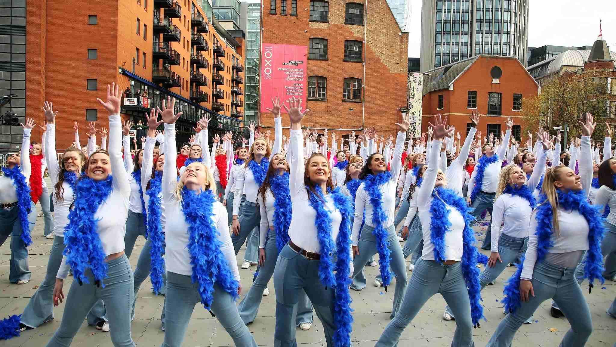 Londyn taniec
