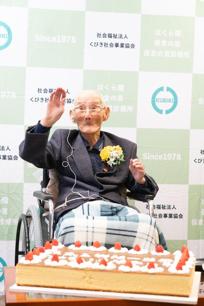najstarszy żyjący naświecie