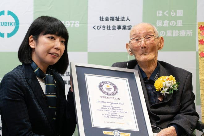 rekordzista guinnessa - najstarszy człowiek