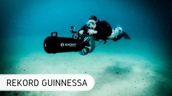Guinness - nurkowanie