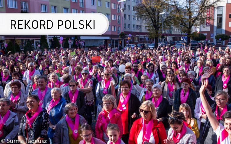 Polska - różowe wstążki