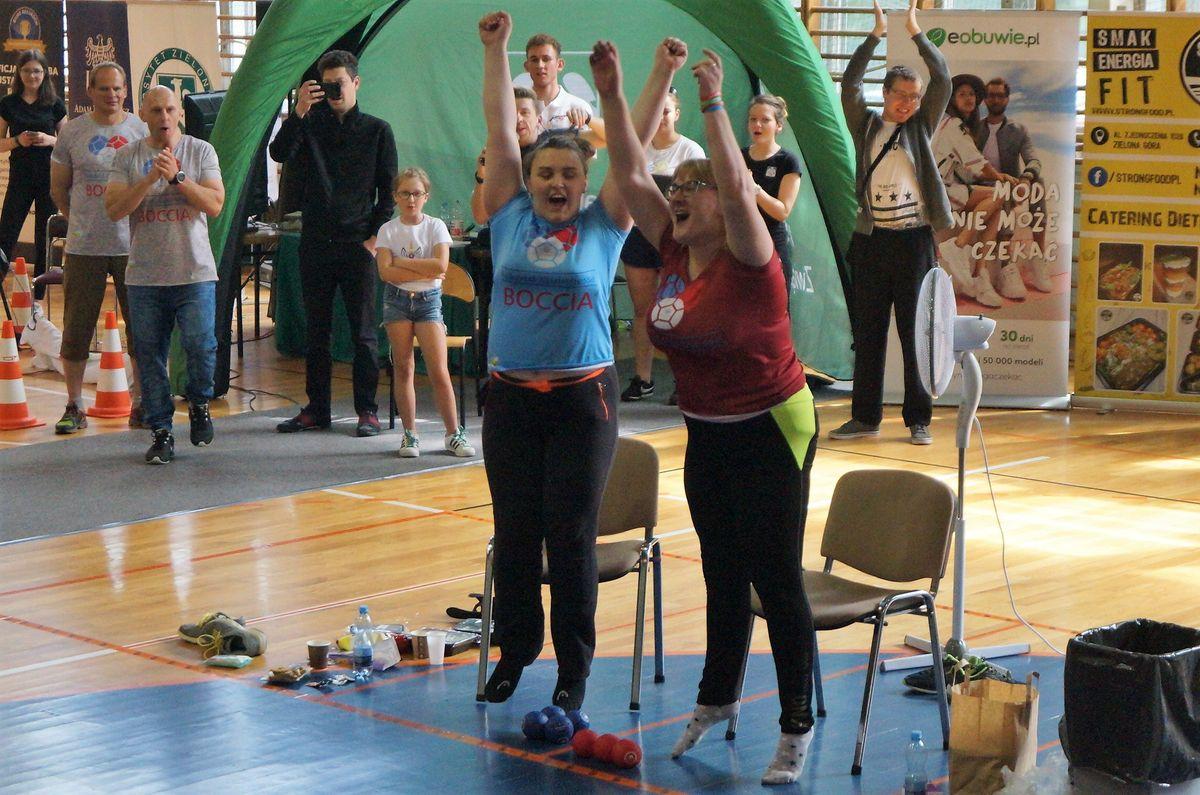 Boccia - uczestniczki rekordu