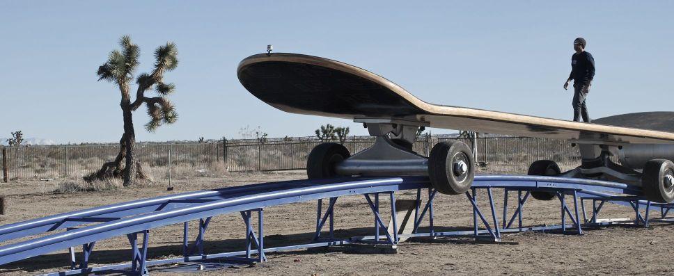 Największa deska skateboardowa