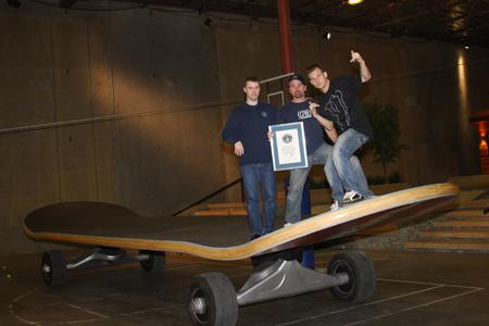 Największy skateboard