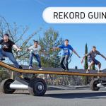 rekord Guinnessa - największa deska