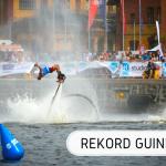 rekord Guinnessa - flyboard