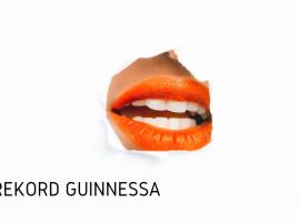 Rekord Guinnessa - największy mural z ust