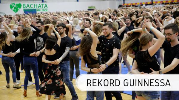 Rekord Guinnessa - tańczenie Bachata