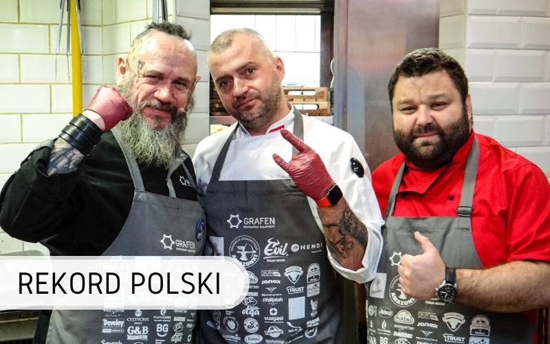 Rekord Polski - maraton grillowania