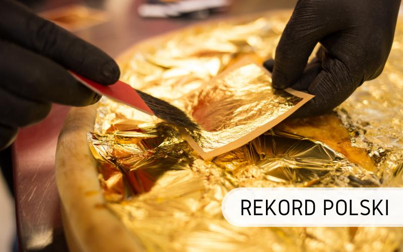 Rekord Polski - największa złota pizza