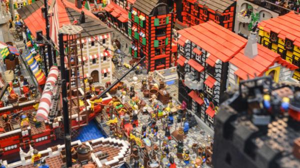 Klocki LEGO - rekord
