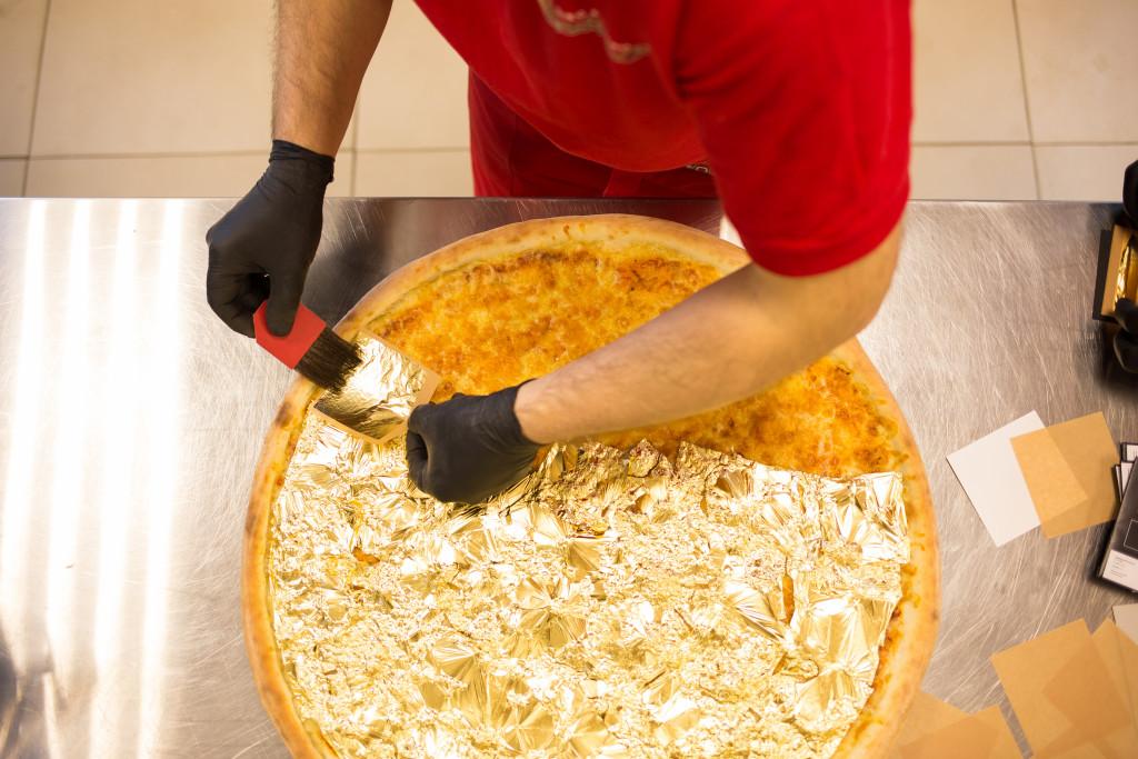 Rekord Polski wzłotej pizzy