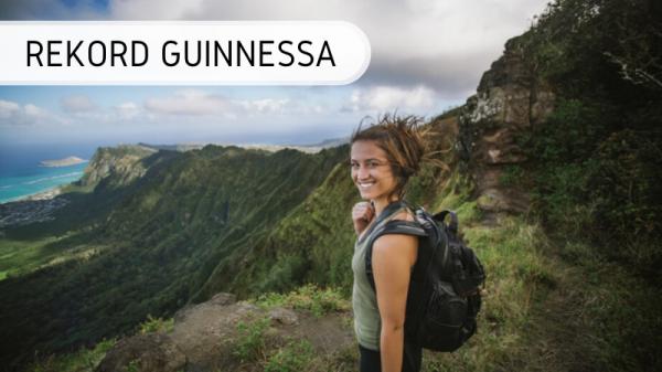 Rekord Guinnessa - najmłodsza podróżniczka świata