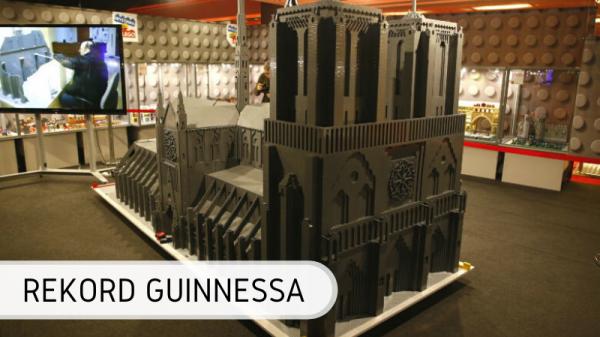 Rekord Guinnessa - największa katedra Notre Dame