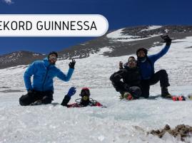 Rekord Guinnessa - nurkowanie wysokogórskie