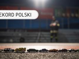 Rekord Polski - Najdłuższa linia z samochodzików