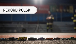 Rekord Polski - Najdłuższa linia zsamochodzików