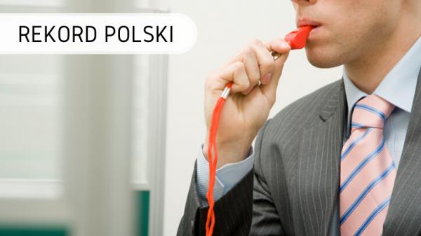 Rekord Polski - Najwięcej osób gwiżdżących