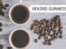 Największa degustacja kawy - rekord Guinnessa