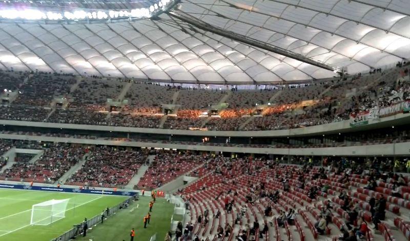 Największy stadion piłkarski wPolsce