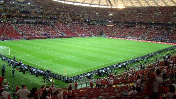 Największy stadion piłkarski w Polsce - rekord