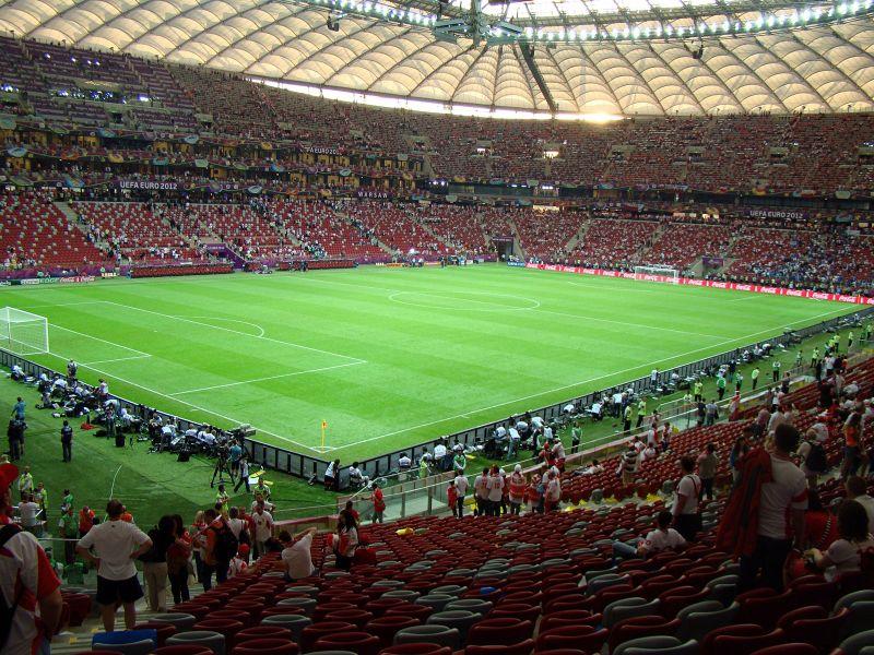 Największy stadion piłkarski wPolsce - rekord