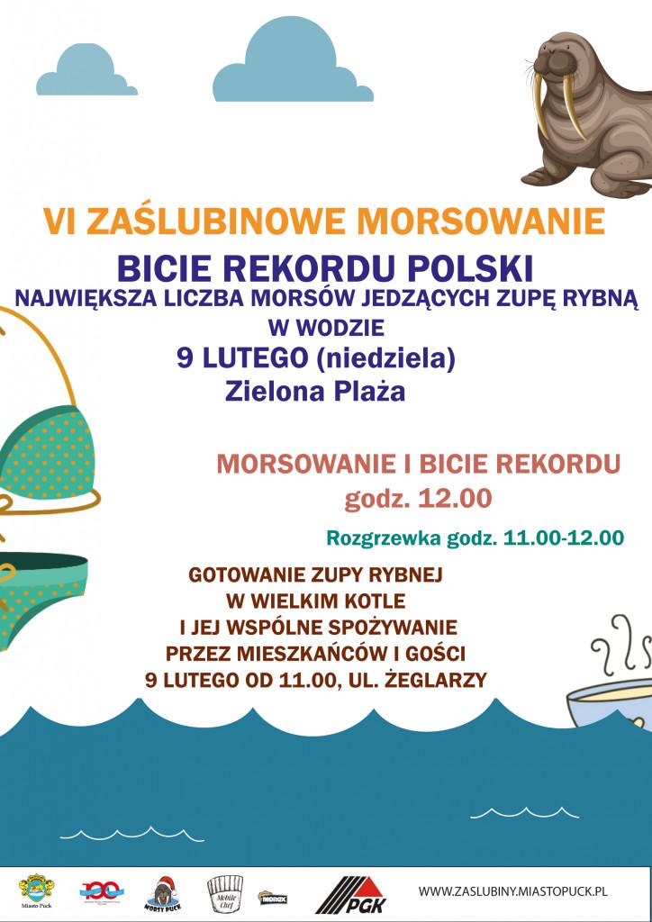 Bicie Rekordu Polski - Morsowanie