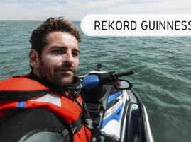 Rekord Guinnessa - najdłuższa podróż skuterem wodnym