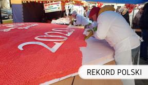 Rekord Polski - tort malinowy