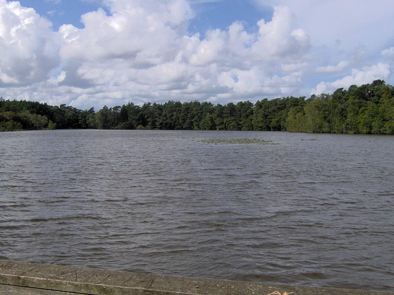 Jezioro Dołgie Małe - rekord