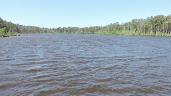 Najpłytsze jezioro w Polsce