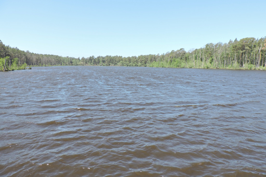 Najpłytsze jezioro wPolsce