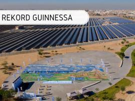 Największa mozaika z materiałów recyklingowych - rekord Guinnessa