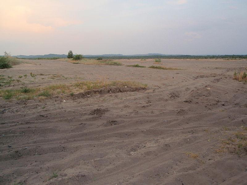 Największa pustynia - rekord Polski